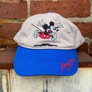 Vintage 1990s Disney Mickey Mouse Youth Snapback